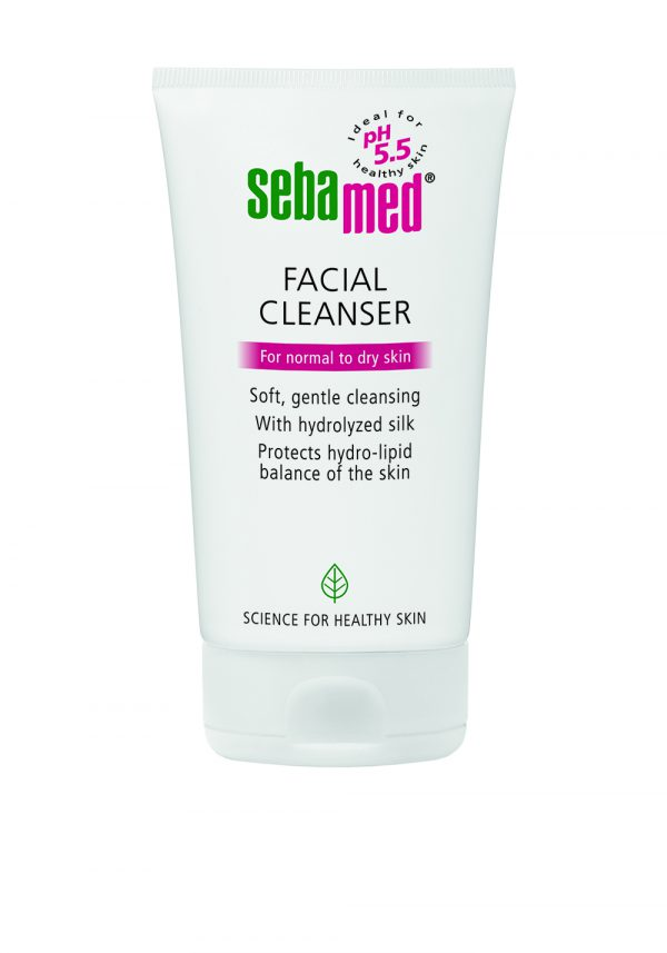 facial cleanser normal to dry skin